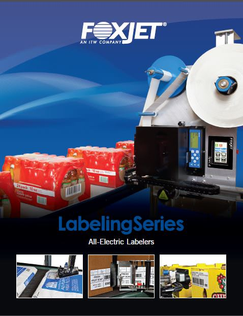 Screenshot of Labeling Series brochure