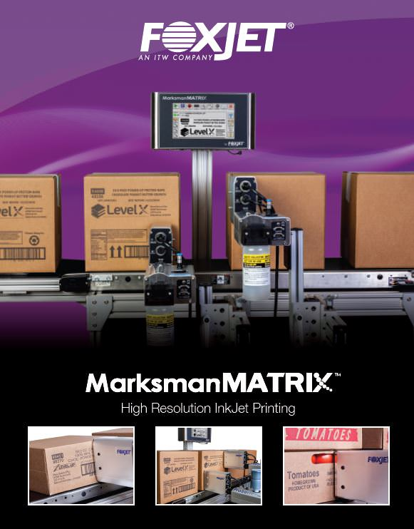 Screenshot of ProSeries Marksman Matrix brochure