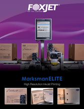 Screenshot of Marksman ELITE brochure